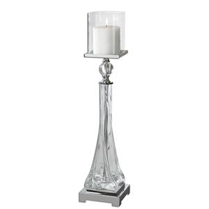 Uttermost Accessories Grancona Glass Candleholder