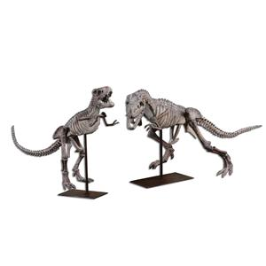Uttermost Accessories T-Rex Sculptures, Set of  2