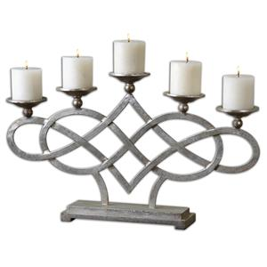 Uttermost Accessories Adala Silver Candleholder