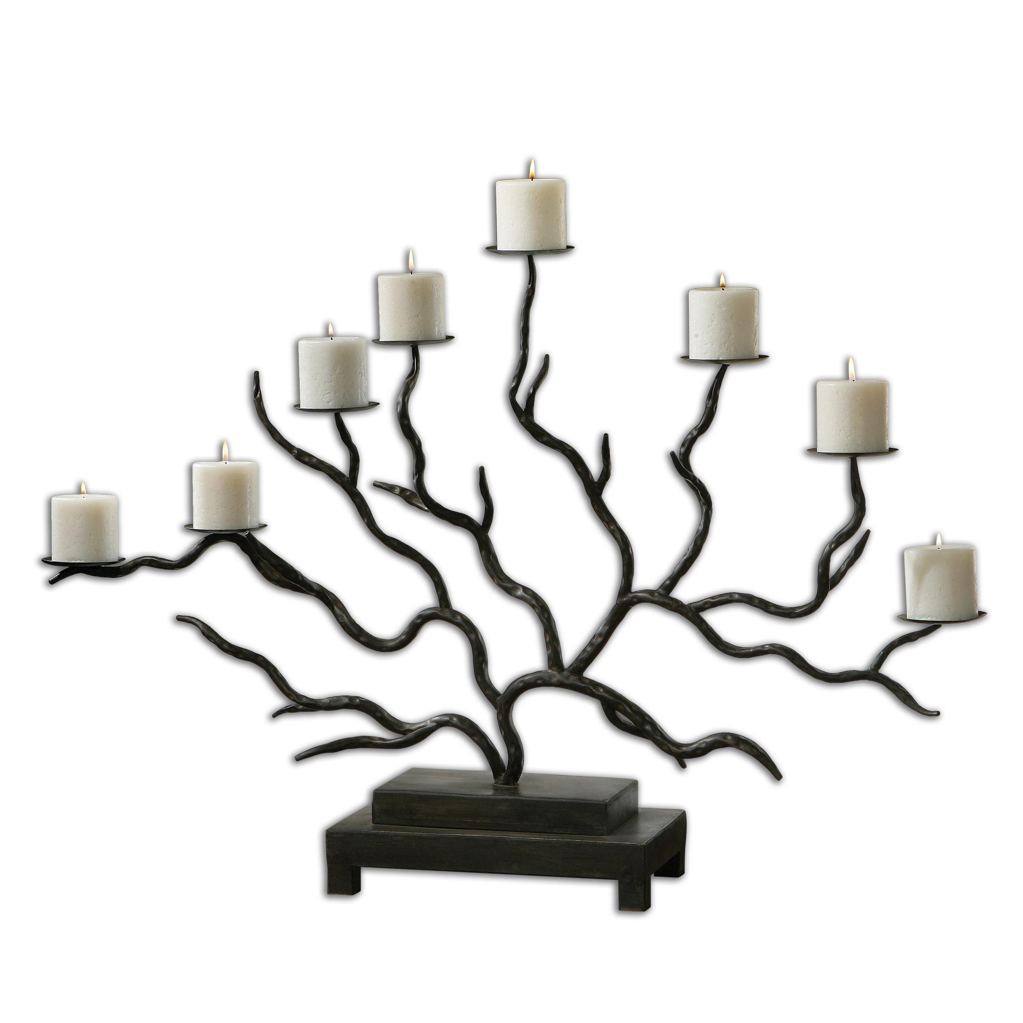 Uttermost Accessories Esher Twig Candelabra - Item Number: 19866