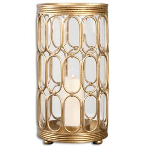 Uttermost Accessories Sosi Gold Candleholder
