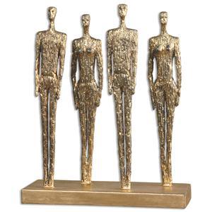 Uttermost Accessories Ten-hut Gold Sculpture