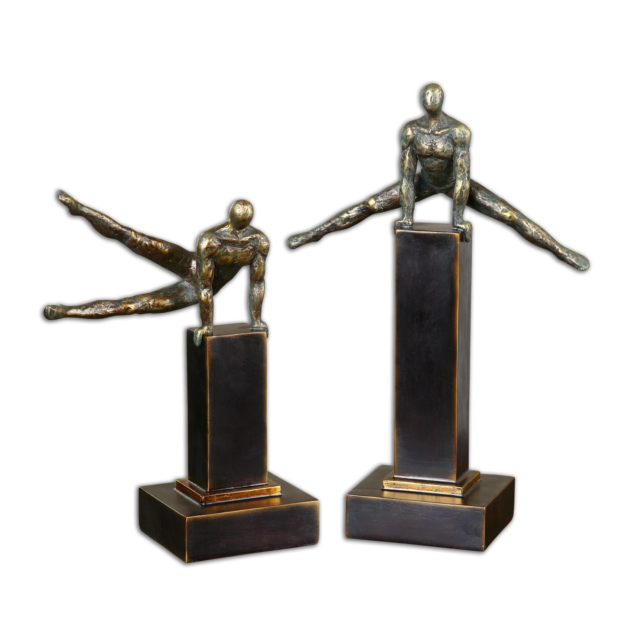 Uttermost Accessories Pommel Sculptures, Set of 2 - Item Number: 19897