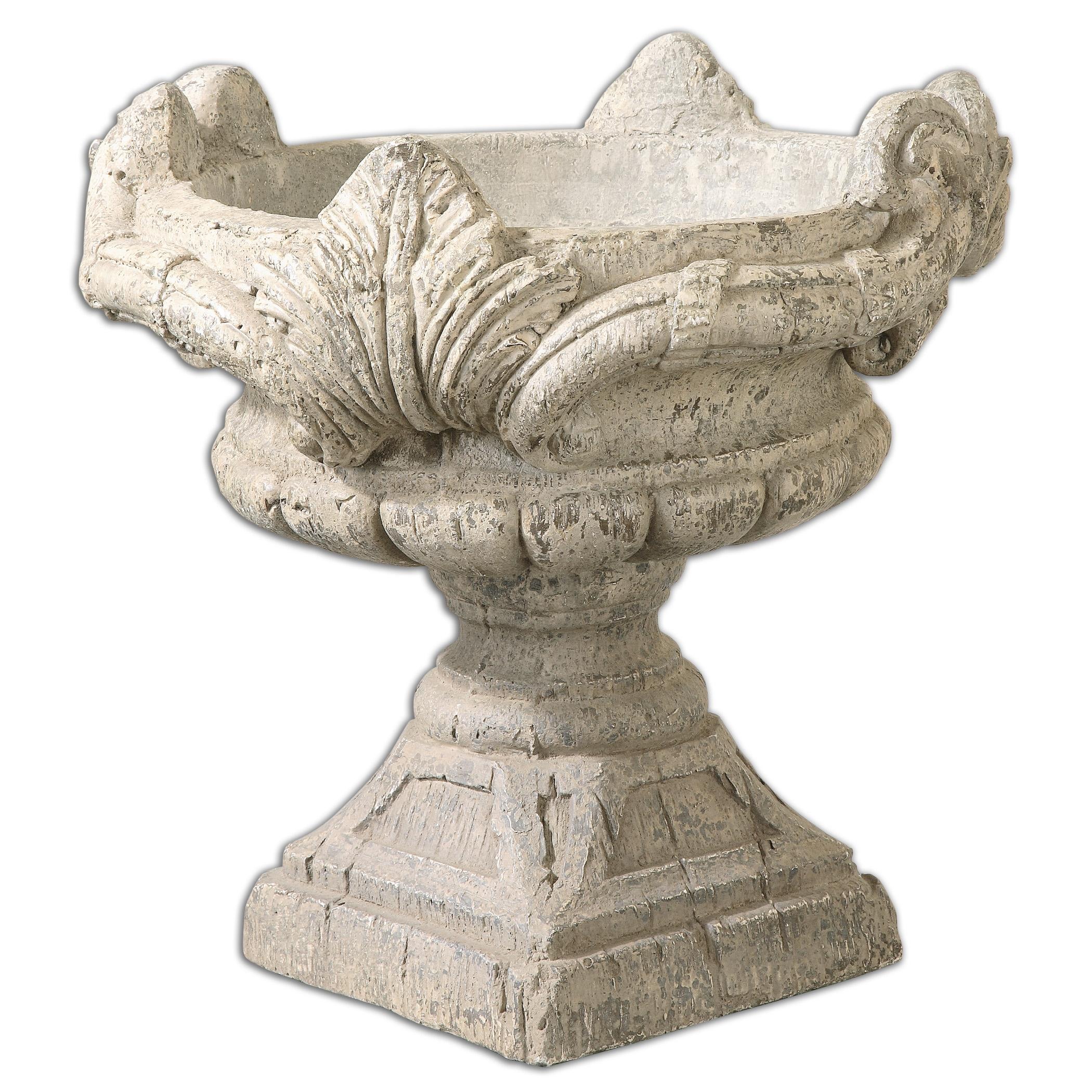 Uttermost Accessories Elske Stone Planter - Item Number: 19902