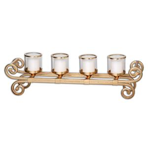 Uttermost Accessories Meron Gold Candelabra