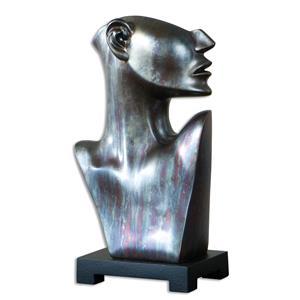 Uttermost Accessories My Good Side Bronze Sculpture