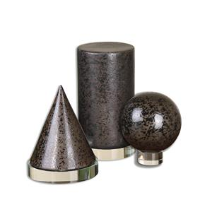 Uttermost Accessories Geometric Shapes, S/3