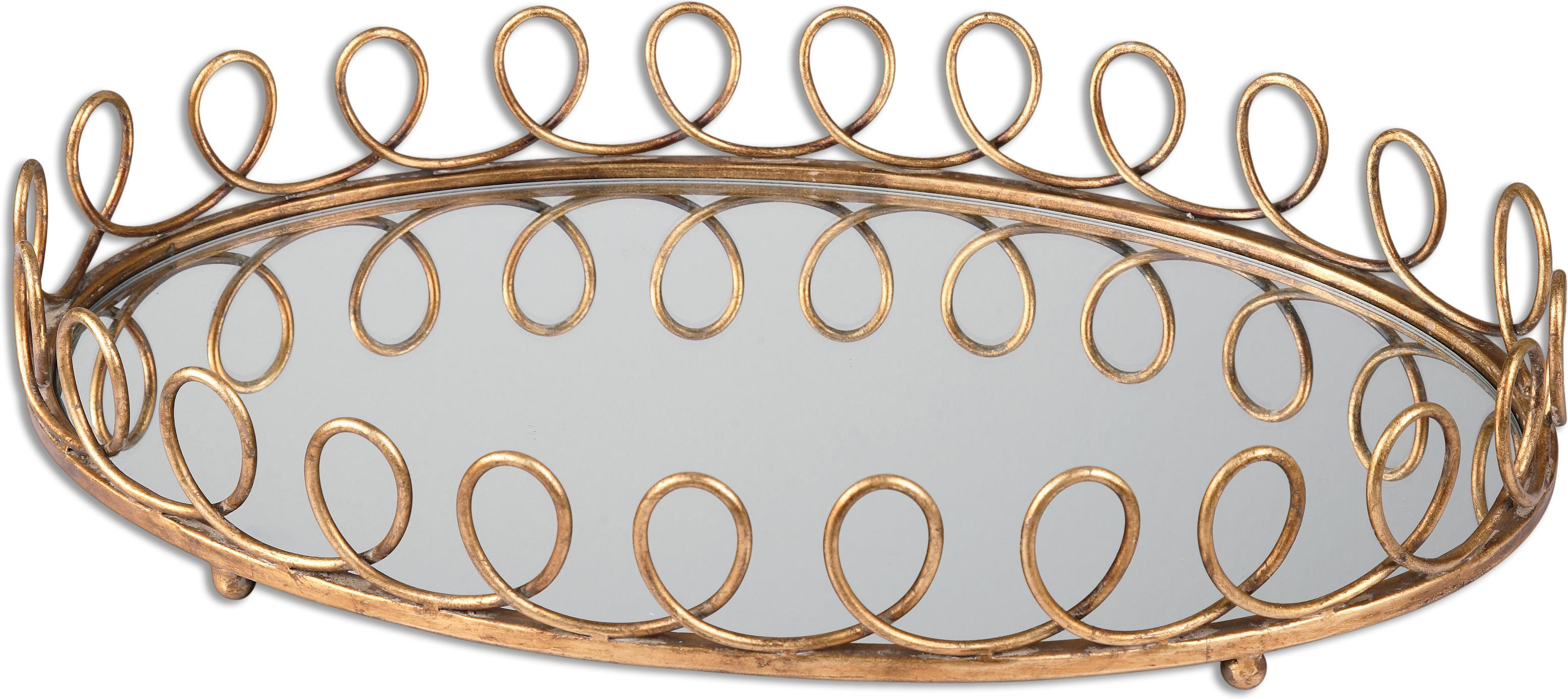 Uttermost Accessories Eclipse Mirrored Tray - Item Number: 19963