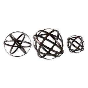 Uttermost Accessories Stetson Bronze Spheres S/3