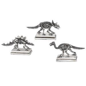 Uttermost Accessories Jurassic Silver Figures, S/3