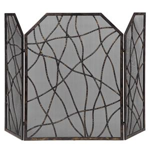 Uttermost Accessories Dorigrass Metal Fireplace Screen