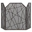 Uttermost Accessories Dorigrass Metal Fireplace Screen - Item Number: 19982