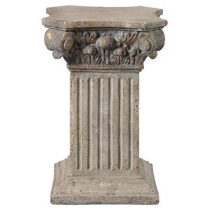 Uttermost Accessories Alben Aged Ivory Plinth