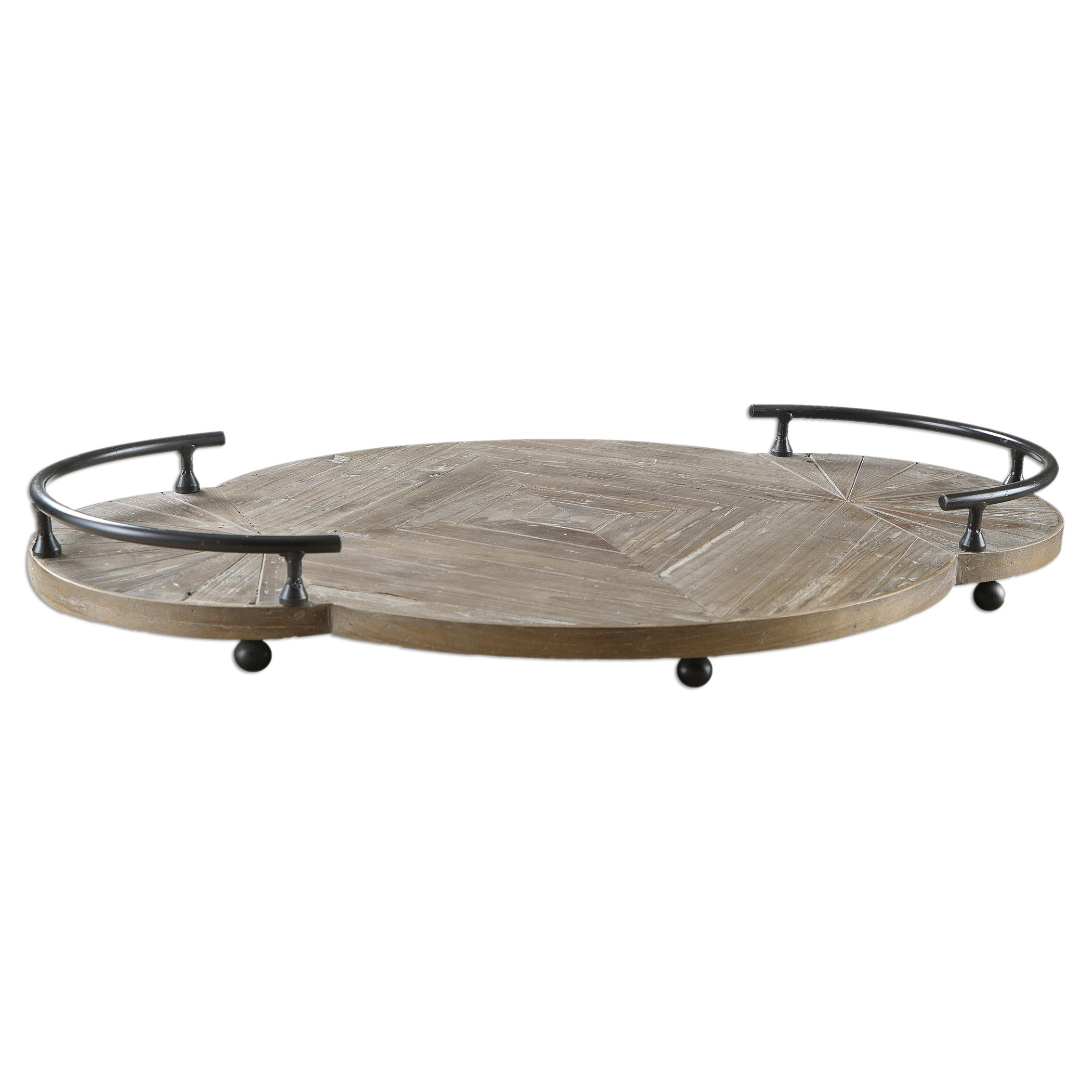 Uttermost Accessories Baku Wooden Tray - Item Number: 19995