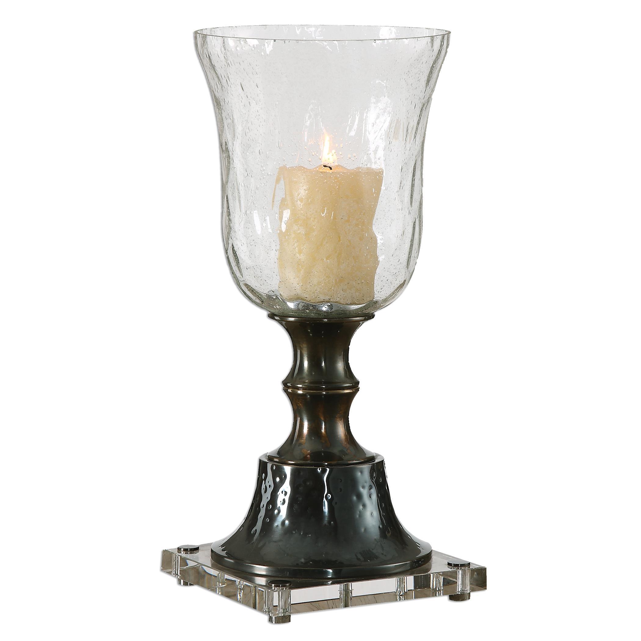 Uttermost Accessories Bayard Bronze Candleholder - Item Number: 20008