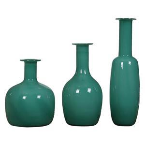 Baram Turquoise Vases, S/3