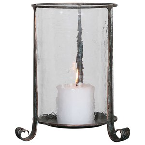 Uttermost Accessories Nicia Bronze Candleholder