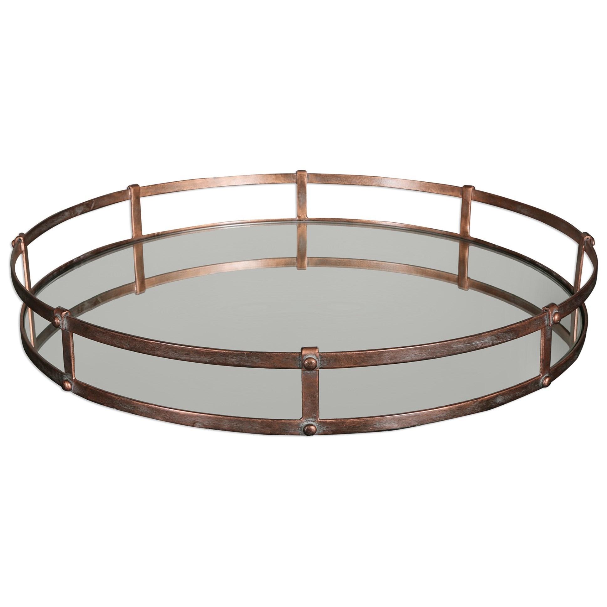 Uttermost Accessories Nunzio Mirrored Tray - Item Number: 20045