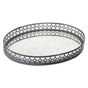 Uttermost Accessories Alessandra Oxidized Gray Tray