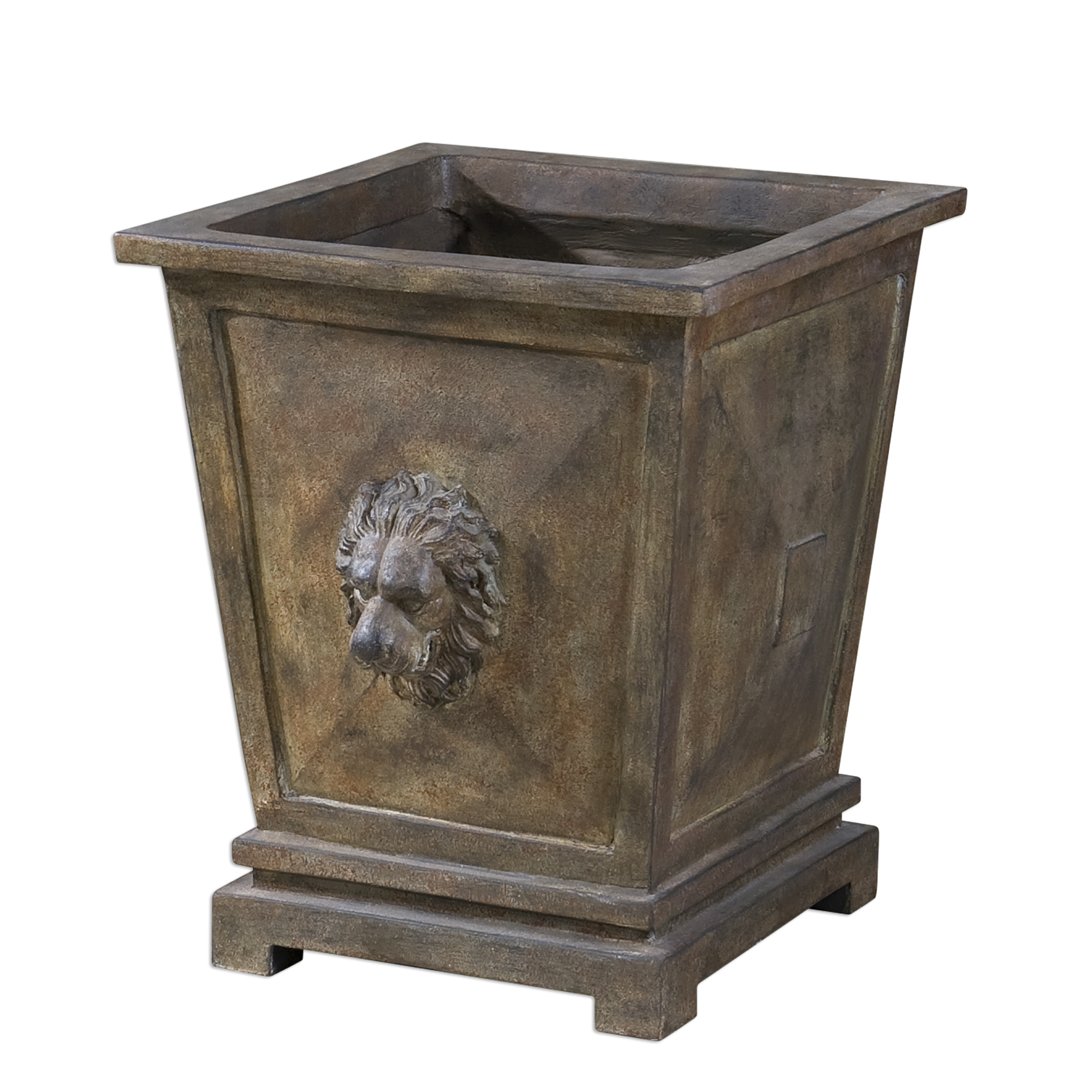 Uttermost Accessories Tobia Burnt Terracotta Planter - Item Number: 20069