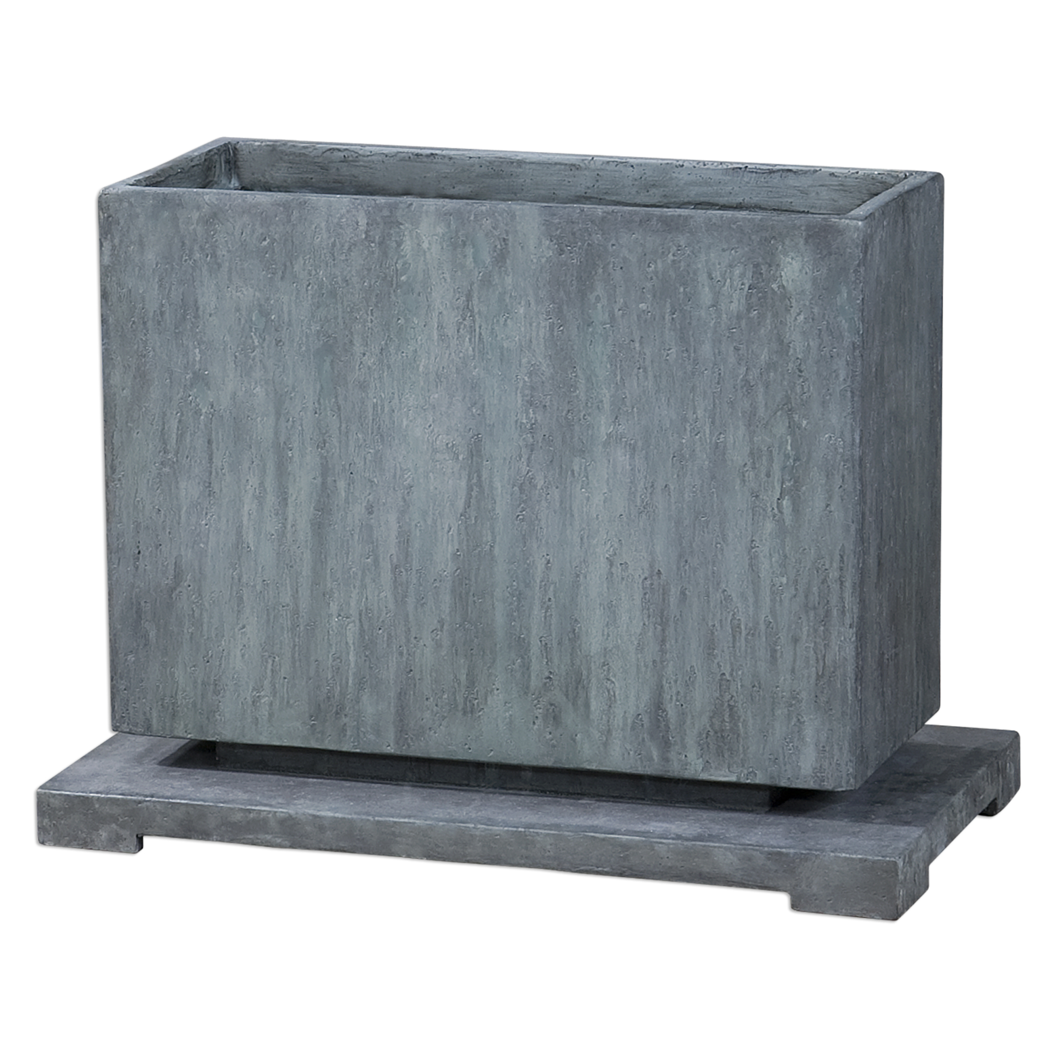 Uttermost Accessories Vito Slate Blue Planter - Item Number: 20070