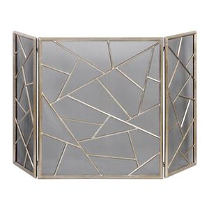Uttermost Accessories Armino Modern Fireplace Screen