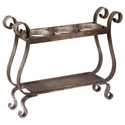 Uttermost Accessories Tiberio Rustic Wine Holder - Item Number: 20085
