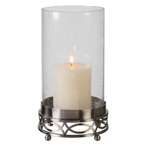 Uttermost Accessories Umberto Nickel Candleholder