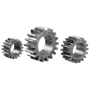 Uttermost Accessories Gears Silver Sculpture S/3