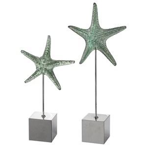 Uttermost Accessories Starfish Sculpture S/2
