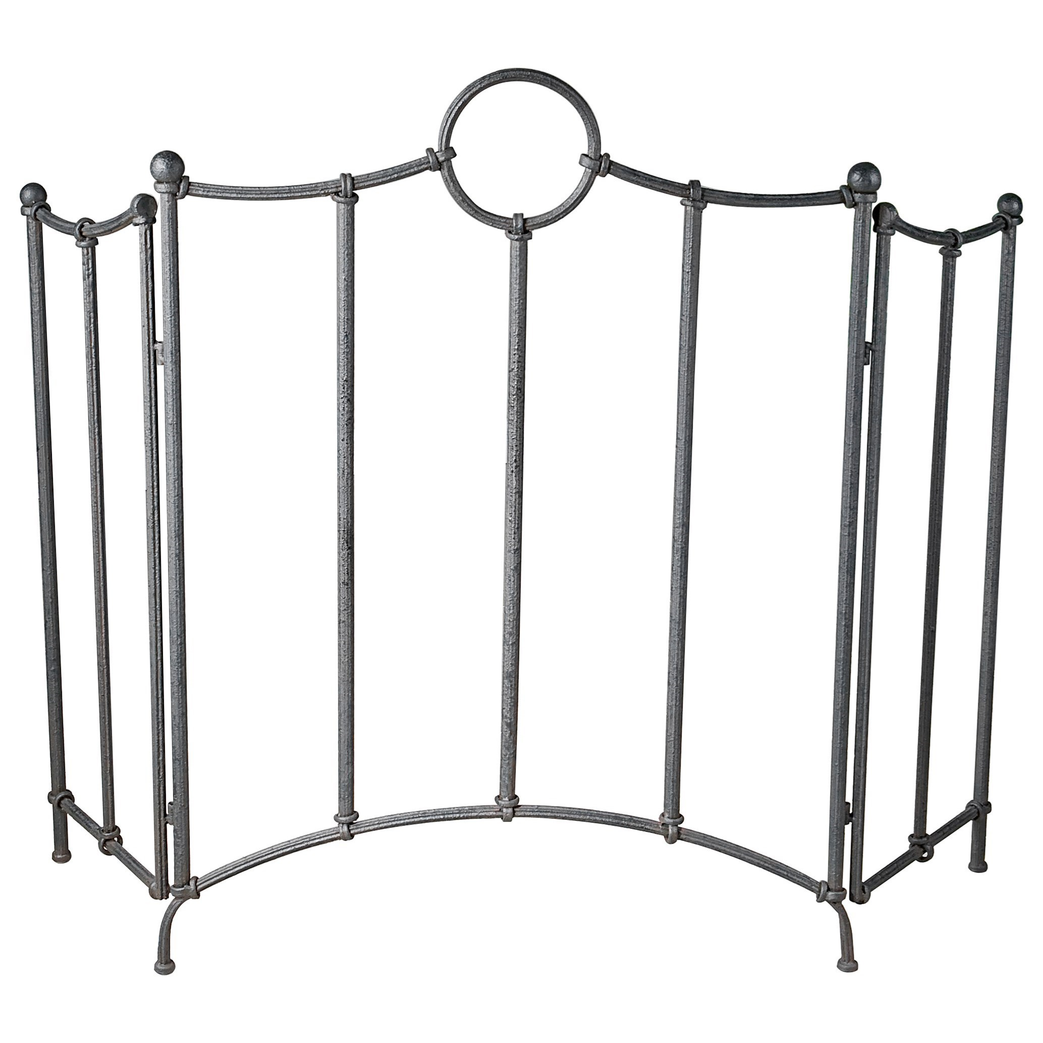Uttermost Accessories Aditya Iron Fireplace Screen - Item Number: 20102