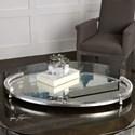 Uttermost Accessories  Egidio Mirrored Oval Tray