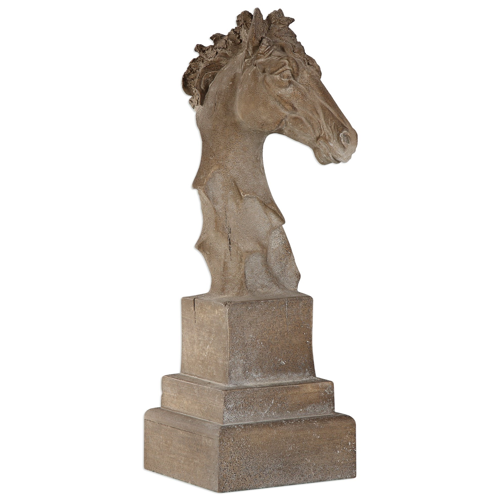 Uttermost Accessories  Franco Horse Head Sculpture - Item Number: 20117