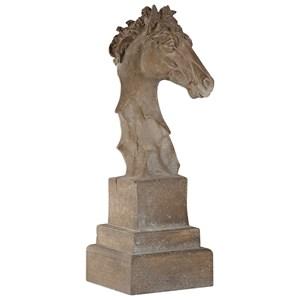 Uttermost Accessories  Franco Horse Head Sculpture