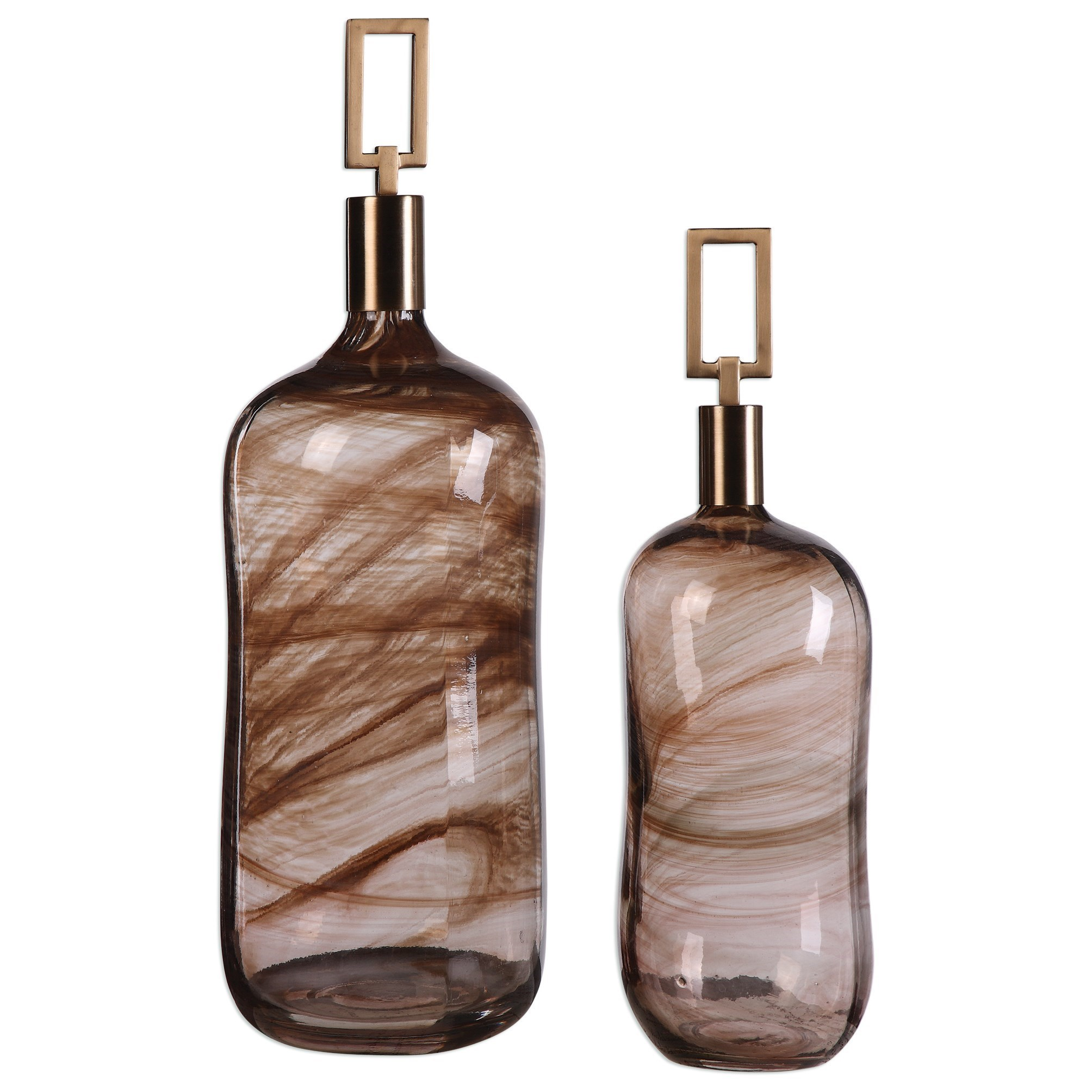 Ginevra Bottles (Set of 2)