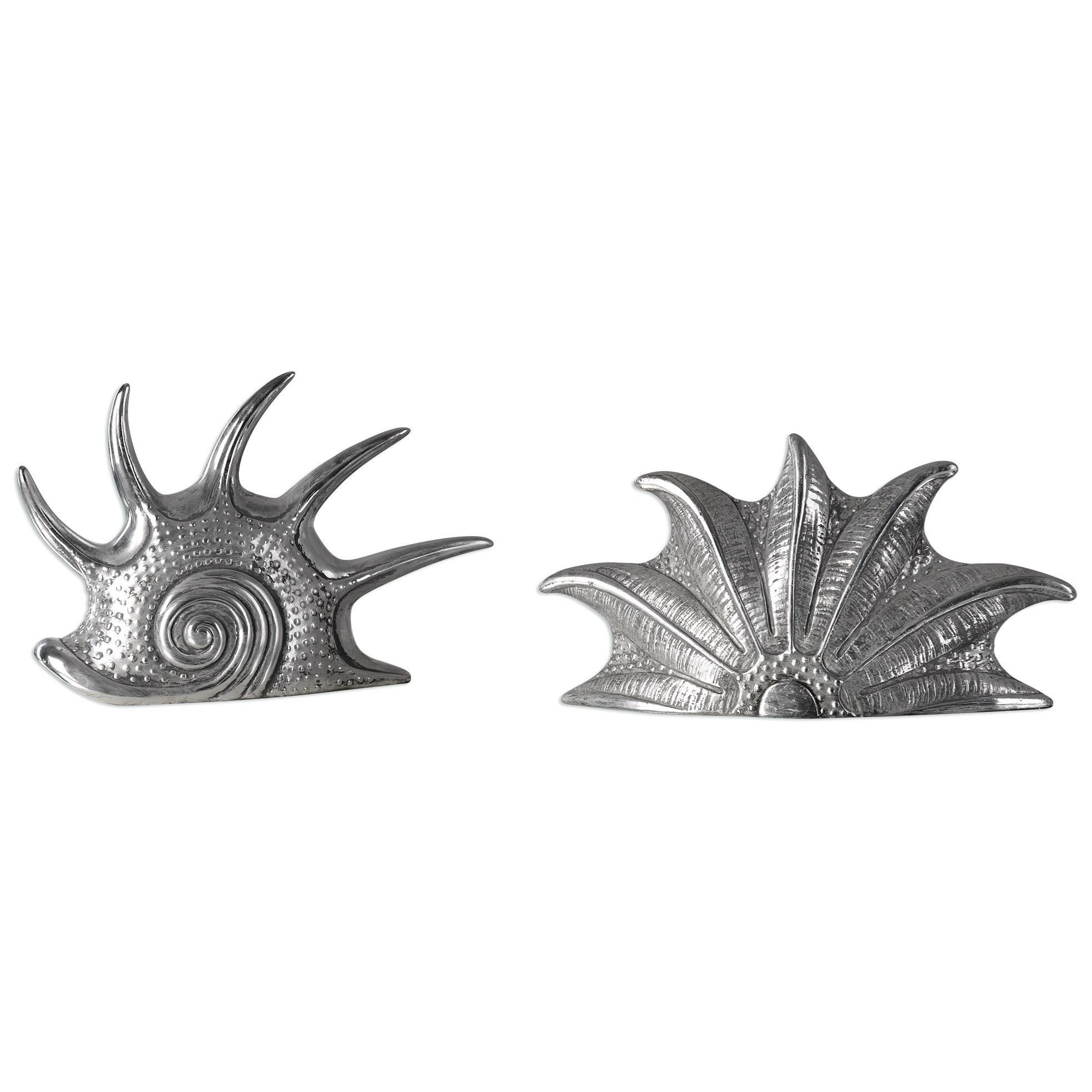 Uttermost Accessories Marine Mollusc (Set of 2) - Item Number: 20138