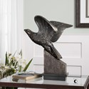 Uttermost Accessories Flying Eagle Sculpture