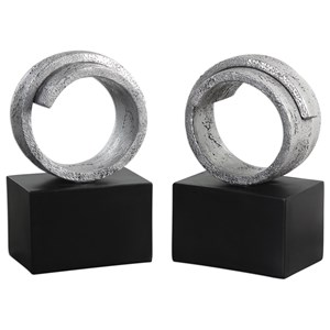 Twist Bookends (Set of 2)