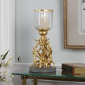 Uttermost Accessories Golden Gymnasts Candleholder