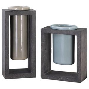 Pio Vases (Set of 2)