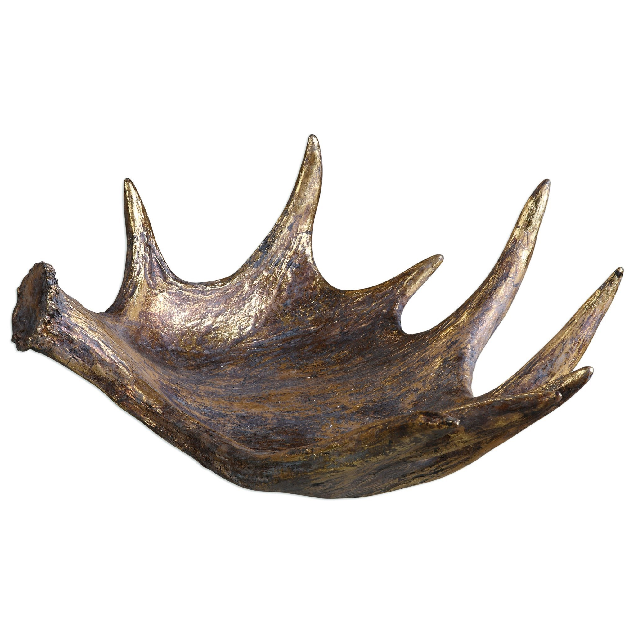 Uttermost Accessories Moose Antler Bowl - Item Number: 20152