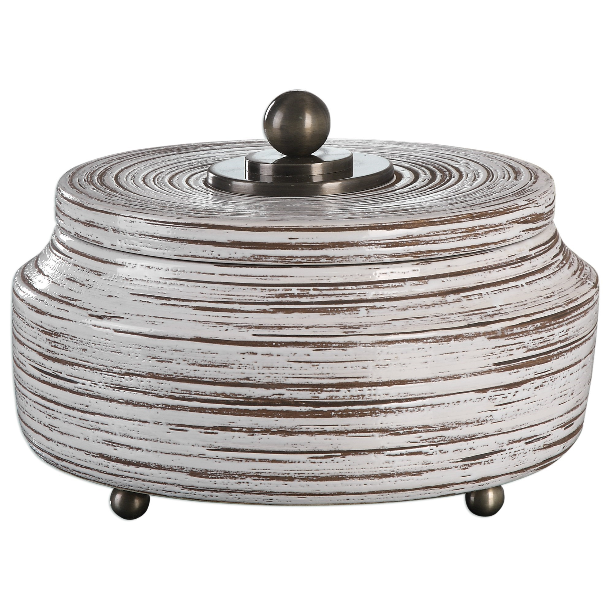 Accessories - Boxes Saltillo Box by Uttermost at Suburban Furniture