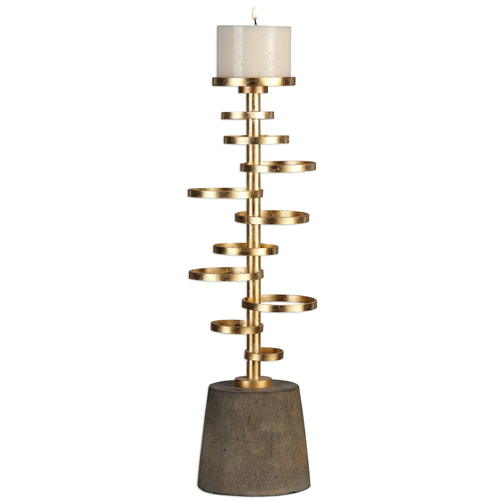 Uttermost Accessories Lostine Candleholder - Item Number: 20162