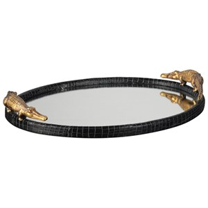 Uttermost Accessories Alligator Tray