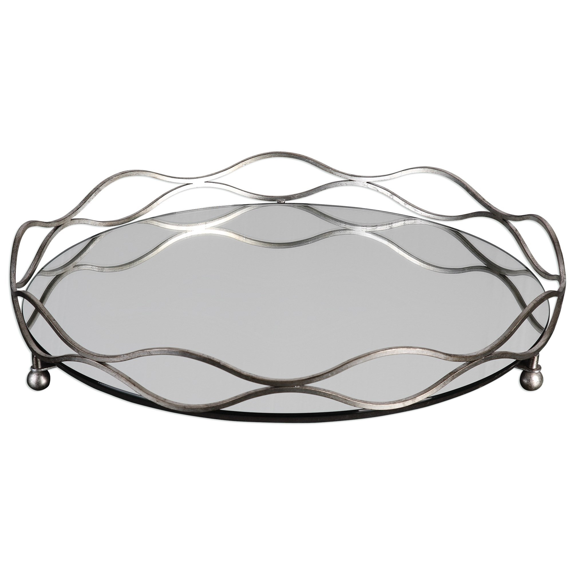 Accessories Rachele Tray by Uttermost at Dunk & Bright Furniture