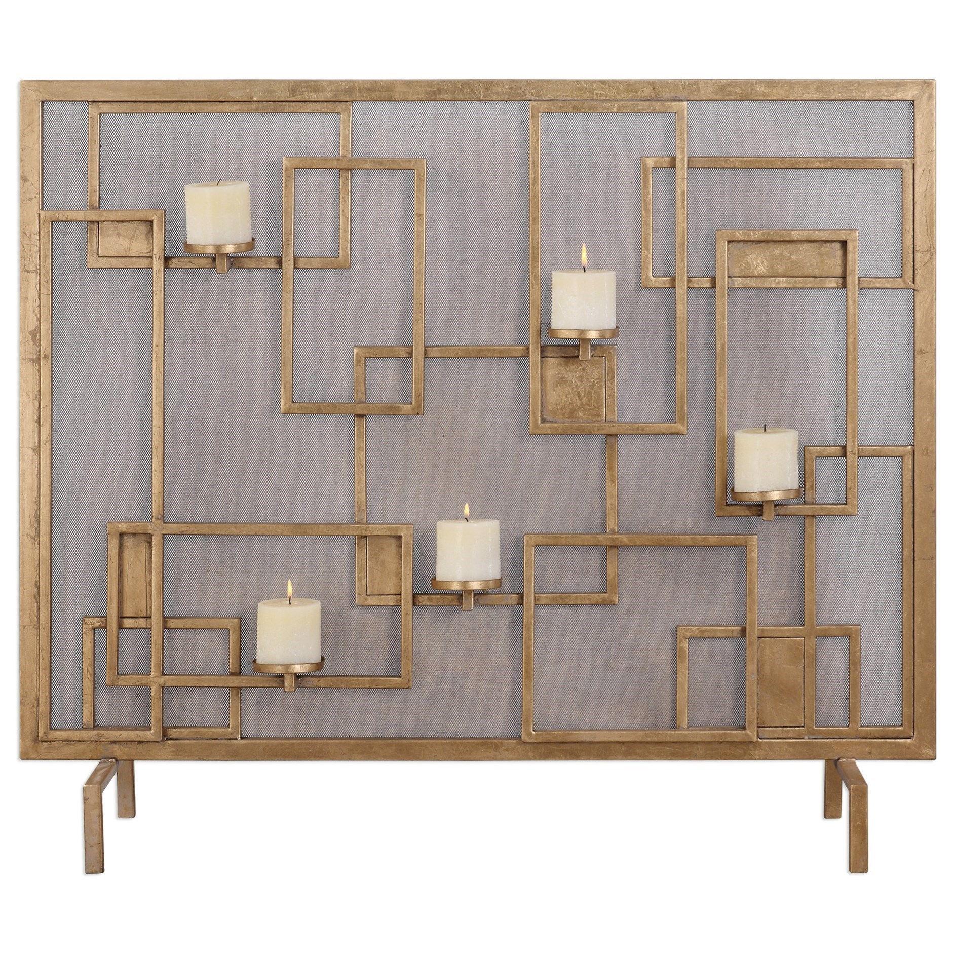 Uttermost Accessories  Mara Fireplace Screen Candleholder - Item Number: 20179
