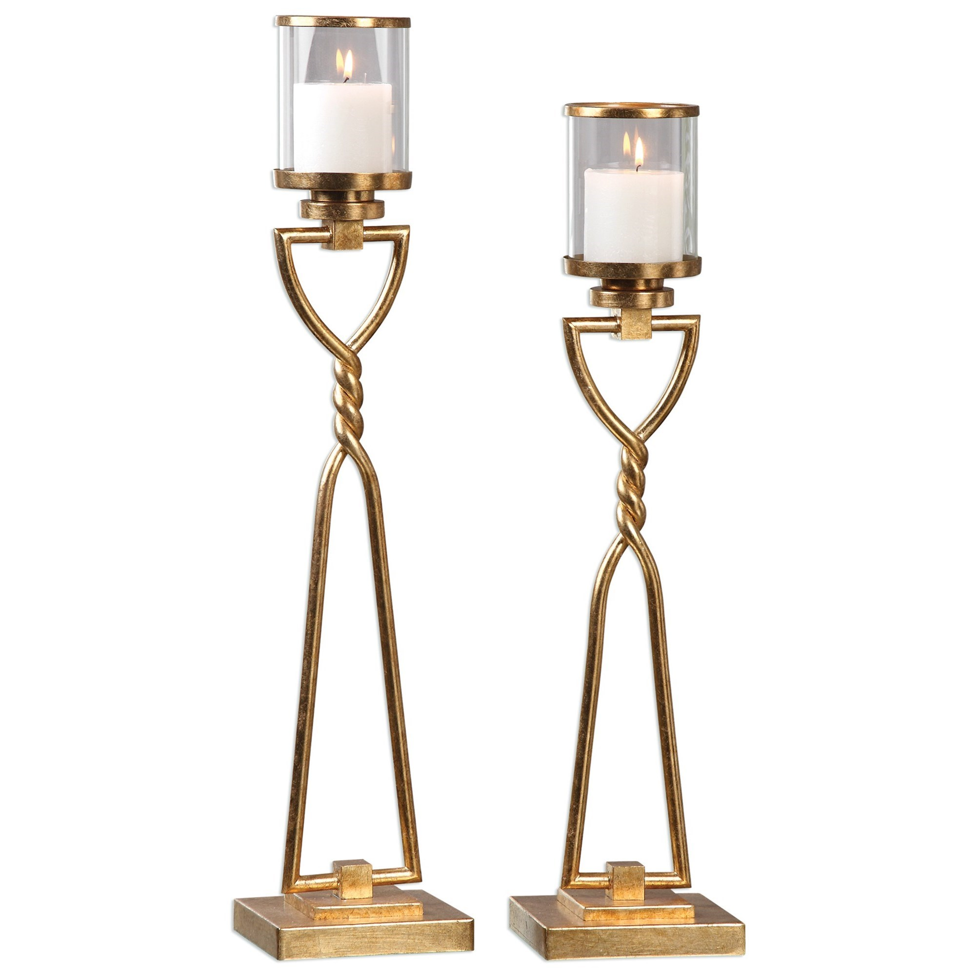 Uttermost Accessories Susana Candleholders (Set of 2) - Item Number: 20182