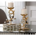 Uttermost Accessories Bede Candleholders (Set of 2)