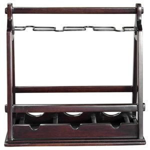 Uttermost Accessories Ossana Mahogany Wine Holder