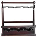 Uttermost Accessories Ossana Mahogany Wine Holder - Item Number: 20189
